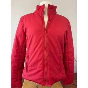 Static Large Women's Puffer Coat Polyurethane